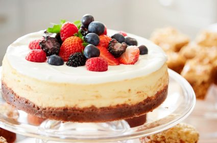 Mary Berry's American-Style Baked Cheesecake Recipe