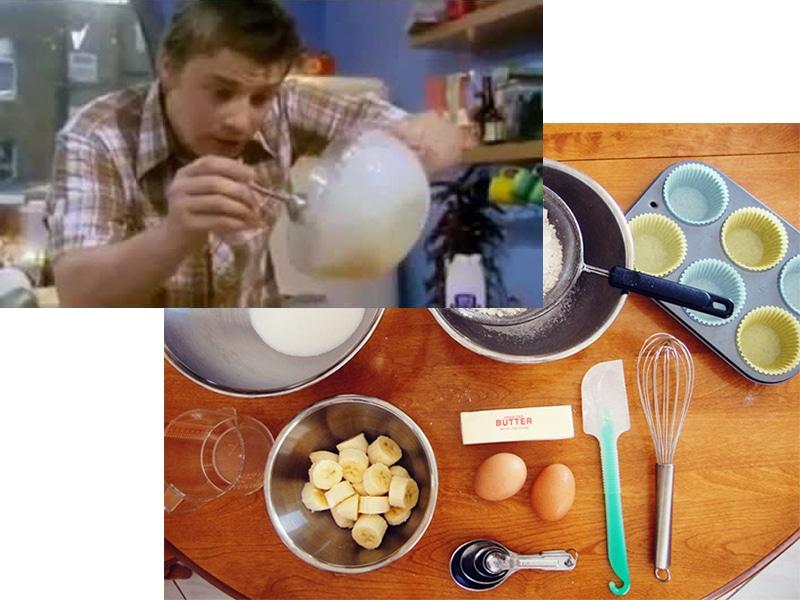 Jamie Oliver Banana Cake Recipe, From Jamie's Bite-Sized