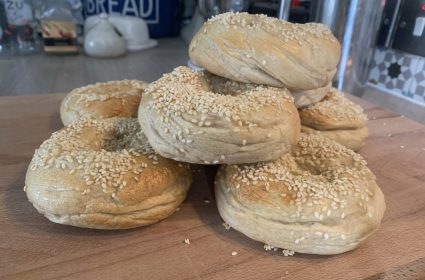 Bagels-With-Sesame-Seeds